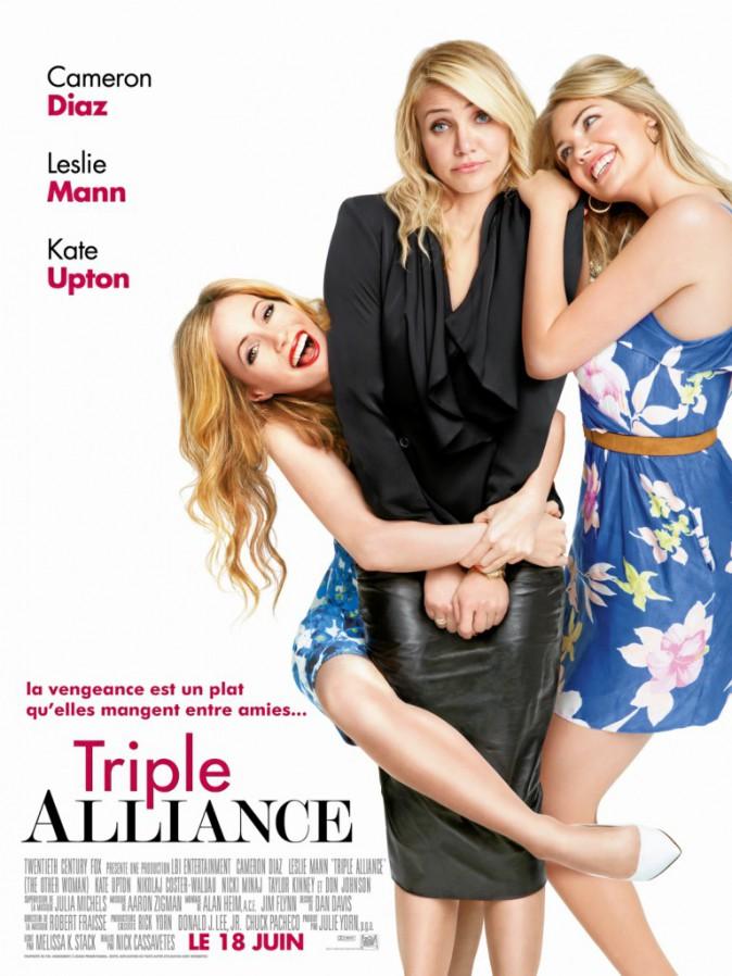 Triple Alliance de Nick Cassavetes avec Cameron Diaz, Leslie Mann et Kate Upton (1h49)