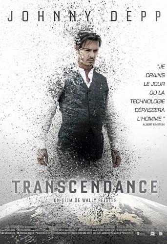 Transcendance de Wally Pfister avec Johnny Depp et Rebecca Hall (1h59)
