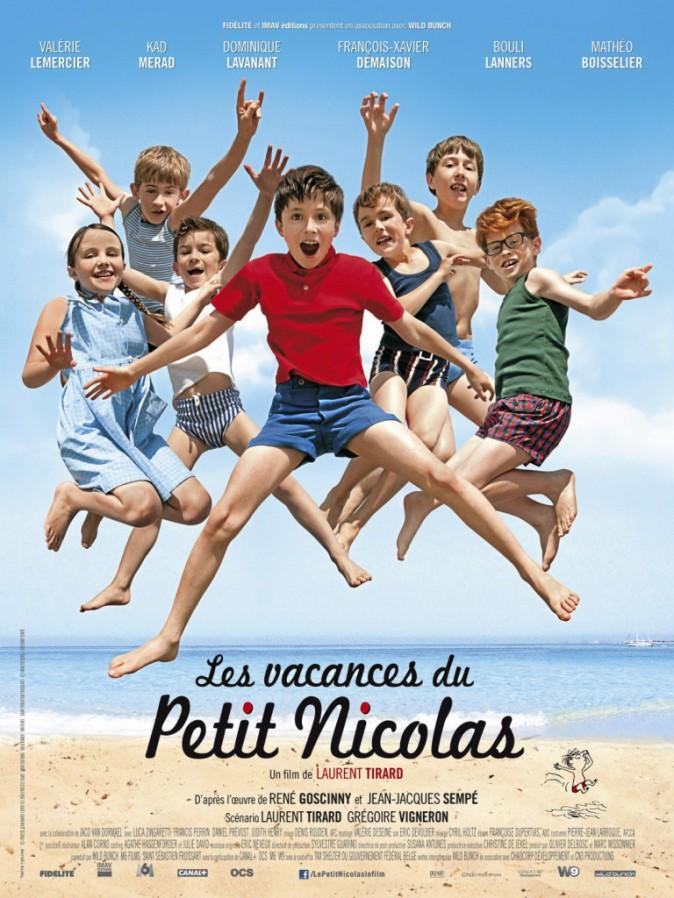 Les vacances du Petit Nicolas de Laurent Tirard avec Valérie Lemercier et Kad Merad (1h37)