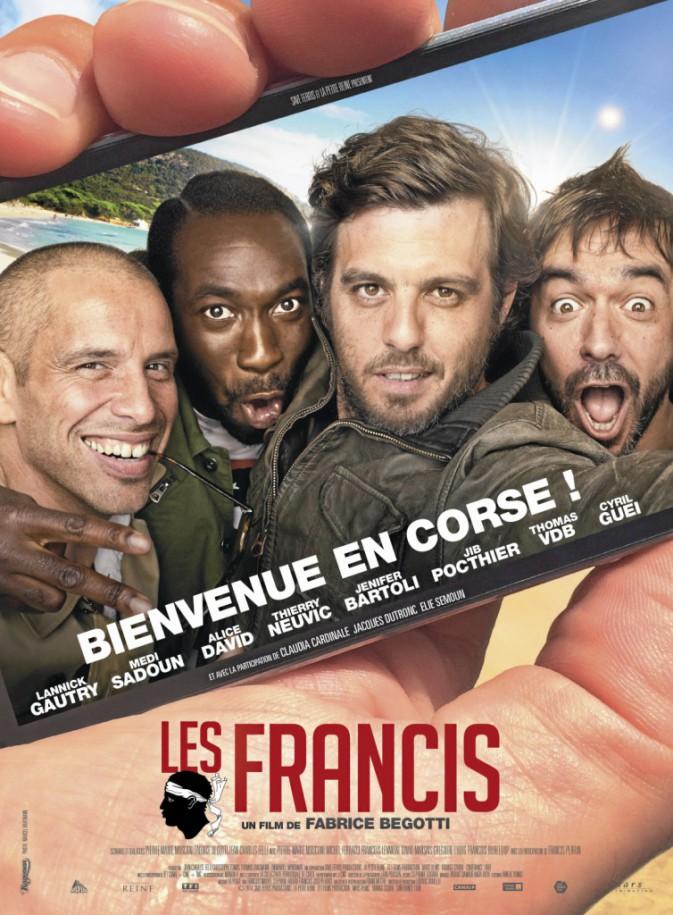 Les Francis de Fabrice Begotti avec Lannick Gautry, Thierry Neuvic et Jenifer (1h25)