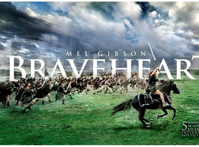 Braveheart- édition limitée 20e anniversaire Fox. 65 €.