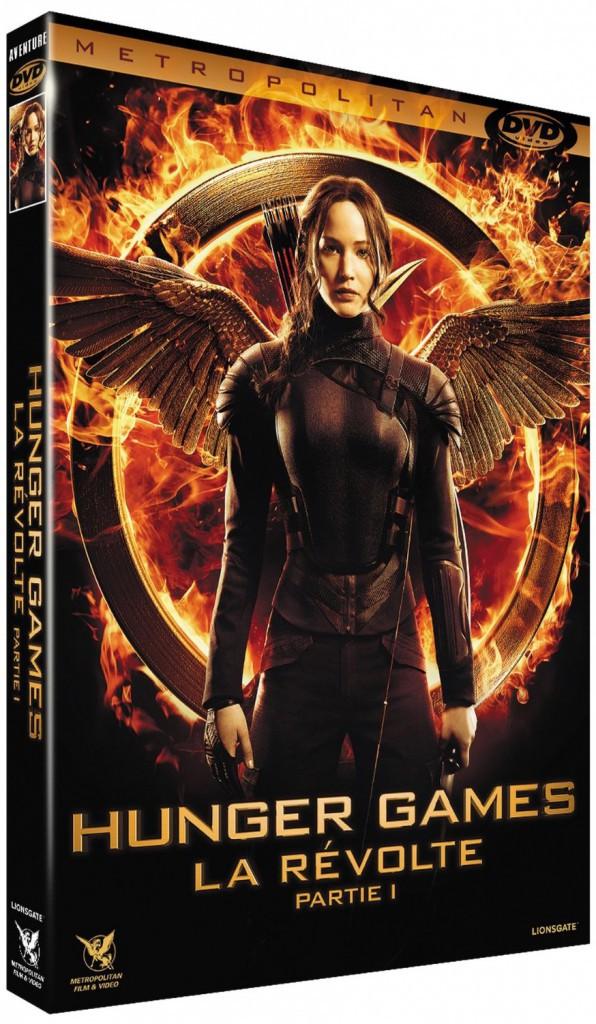 Hunger Games – La révolte : partie 1, Metropolitan. 19,99 €.