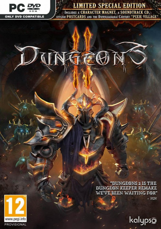 Dungeons 2, sur PC. Koch Media. 39,90 €.