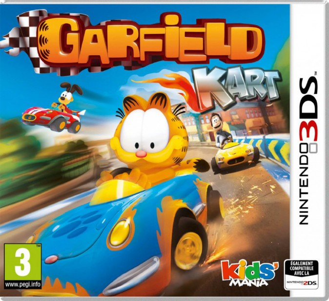 Garfeld Kart, Koch Media, Nintendo 3DS. 29,99 €.