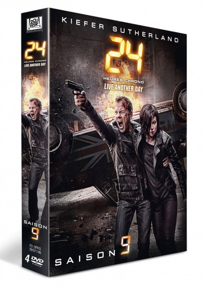 Série TV : 24 heures chrono, Live Another Day, saison 9, Fox. 39,99 €.