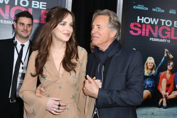 Dakota Johnson, complices avec son père Don Johnson