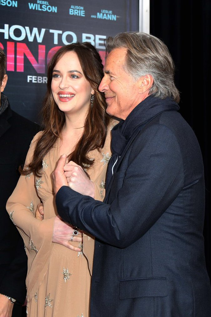 Dakota Johnson et Don Johnson en pleine discussion père fille