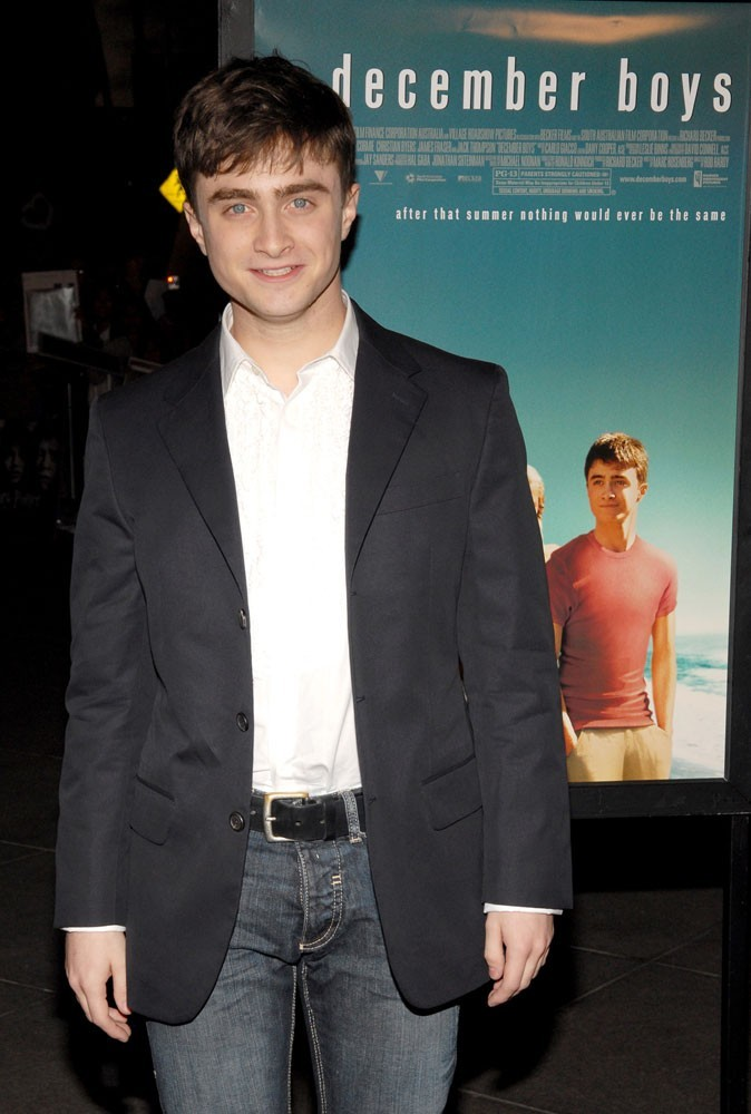 Photos : Daniel tourne December boys en 2007... il n'y a pas que Harry Potter dans la vie !