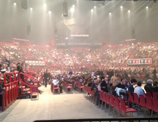La scène de Paris Bercy accueillait, ce jeudi, la tournée Danse avec les Stars !
