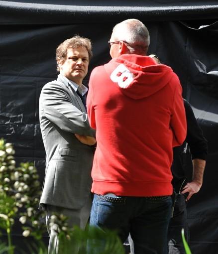 Colin Firth, sérieux sur le tournage !