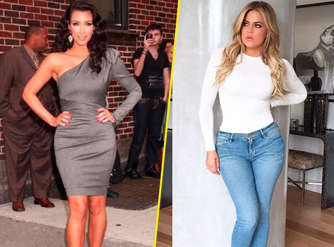 Kim et Khloe Kardashian sur Instagram le 21 mai 2015
