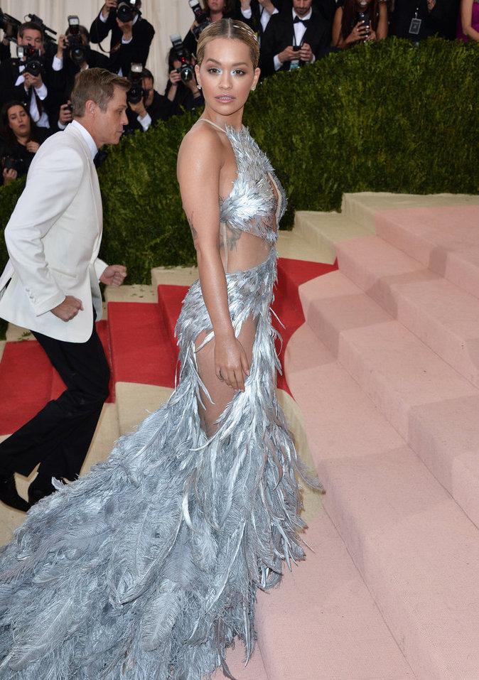 Rita ora au Met Gala à New York le 2 mai 2016