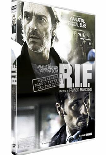 Le DVD de la semaine : R.I.F (Recherchesdans l'intérêt des familles) de Franck Mancuso avec Yvan Attal, Pascal Elbé. DVD et Blu-ray. StudioCanal. 19,99 €. Génialissime !