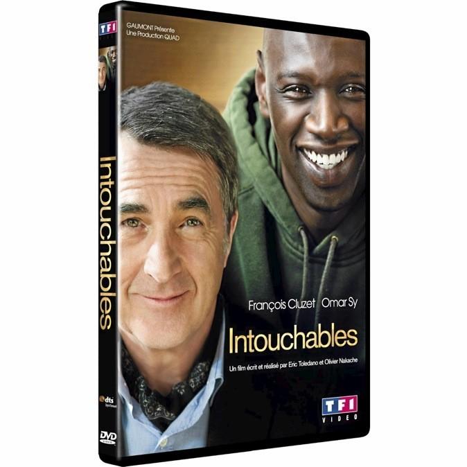 Le DVD d'Intouchables avec François Cluzet et Omar Sy !