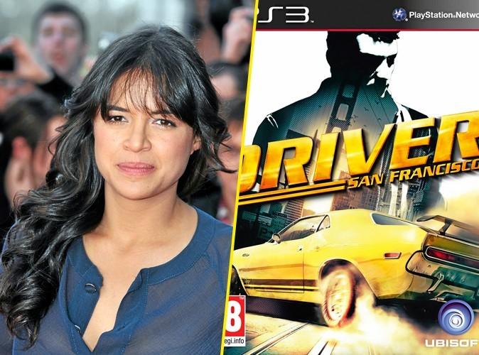 Michelle Rodriguez, on lui conseille: Driver San Francisco, jeu PS3 Ubisoft. 59,90€