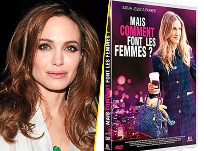 Angelina Jolie, on lui conseille :  Mais comment font les femmes ?, M6 Vidéo. 19,99 €.