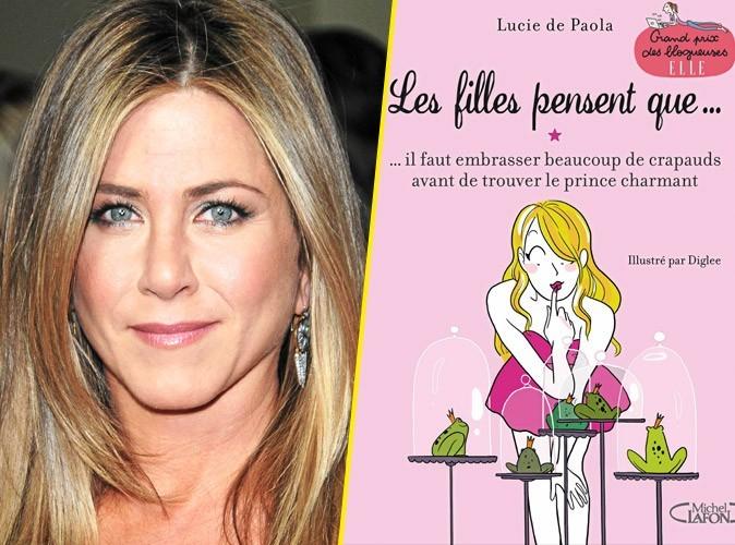 Jennifer Aniston, on lui conseille :Les filles pensent que… de Lucie de Paola , Michel Lafon. 14,95 €.