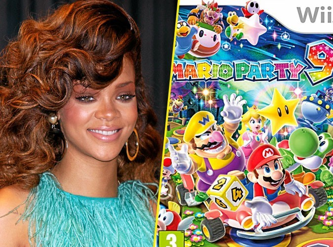 Rihanna, on lui conseille : Mario Party 9, Nintendo Wii. 39,90 €.