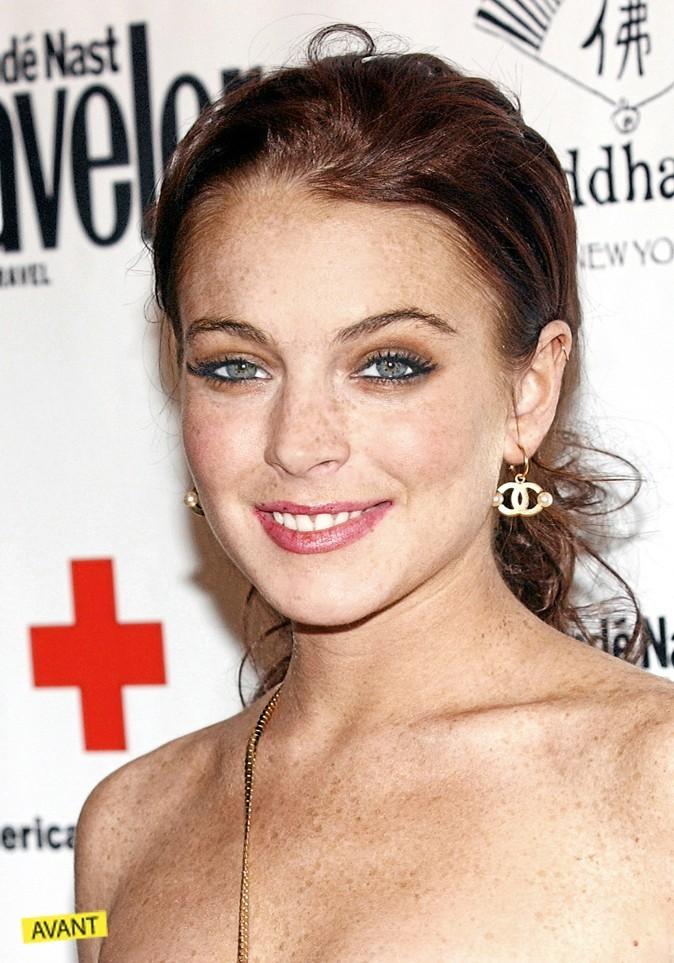Lindsay Lohan jolie petite rousse