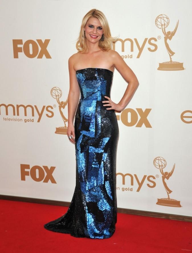 Claire Danes lors de la cérémonie des Emmy Awards 2011, le 18 septembre 2011 à Los Angeles.