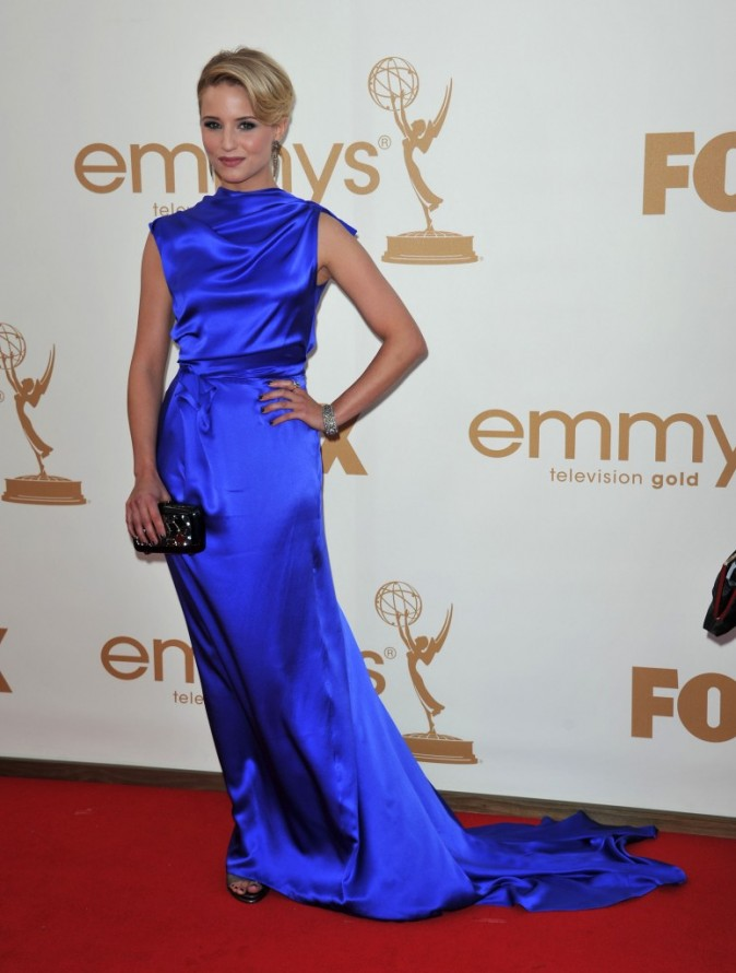 Dianna Agron lors de la cérémonie des Emmy Awards 2011, le 18 septembre 2011 à Los Angeles.