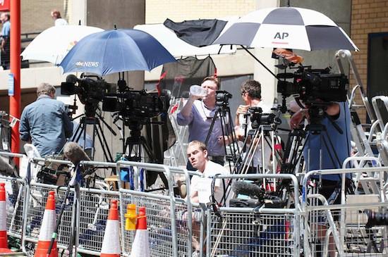 Tous les médias internationaux couvrent l'évènement !