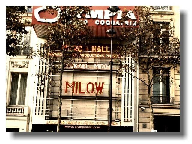 Milow à l'Olympia !