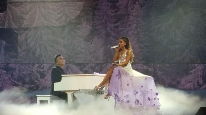 Ariana Grande en concert au Zénith de Paris le 14 mai 2015