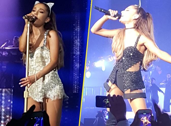 Exclu Photos : Ariana Grande : lune de miel réussie au Zénith de Paris !