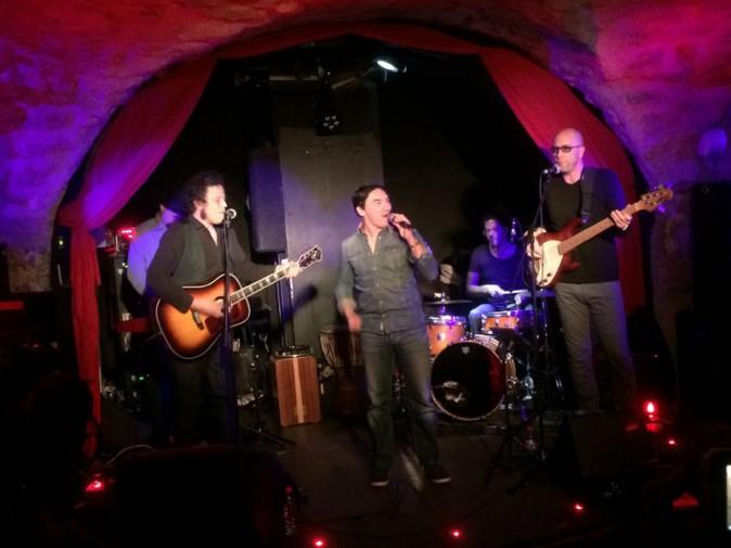 Atef (The Voice 1) en showcase à Paris le 3 mars 2014