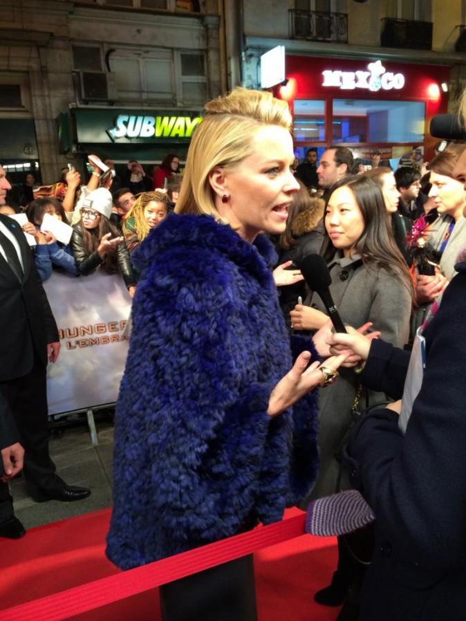 Elizabeth Banks le 15 novembre au Grand Rex, Paris, pour l'avant-première de Hunger Games 2
