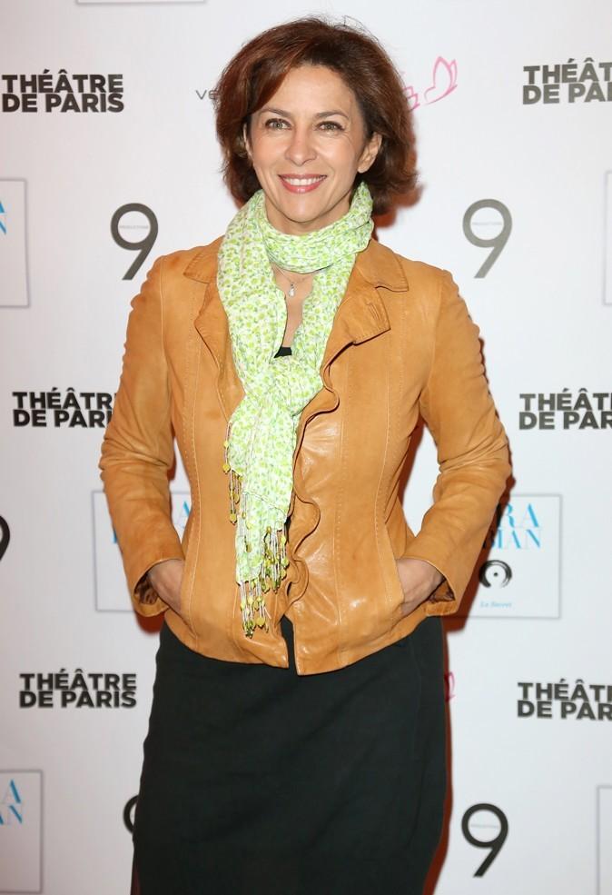 Corinne Touzet au concert de Lara Fabian