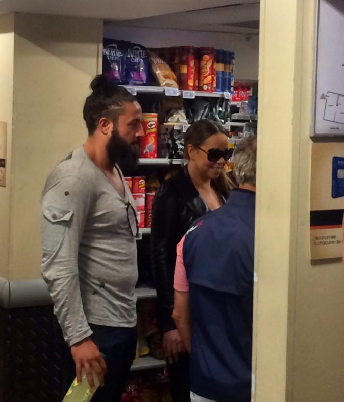 Mariah Carey à Paris, le mardi 9 juin 2015