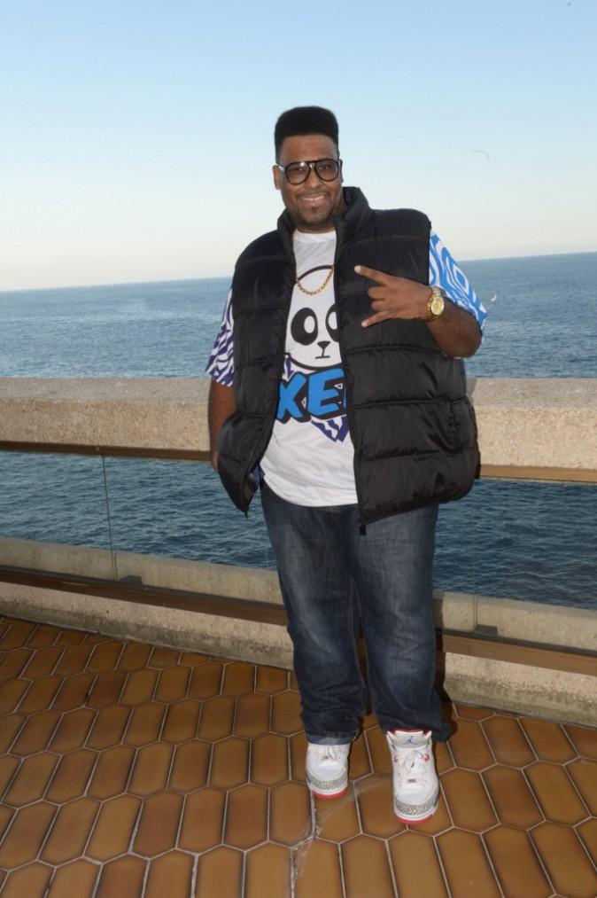 Big Ali au Fairmont Hotel à Monaco, le 6 novembre 2013.