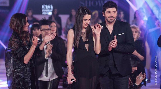 Jenifer, Kenza Cheddadi et Patrick Fiori lors de la 8e édition du Casa Fashion Show