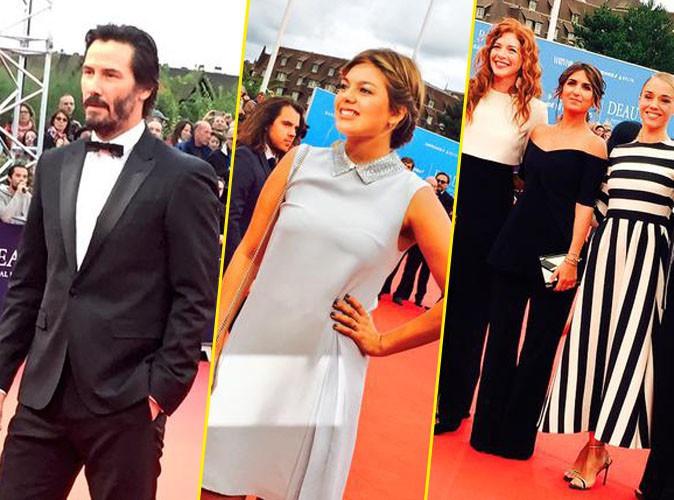 Keanu Reeves, Louane et Géraldine Nakache