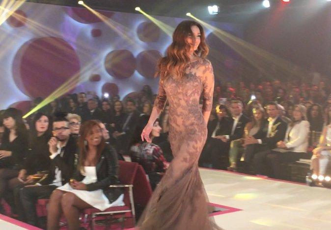 Marine Lorphelin lors de la 8e édition du Casa Fashion Show