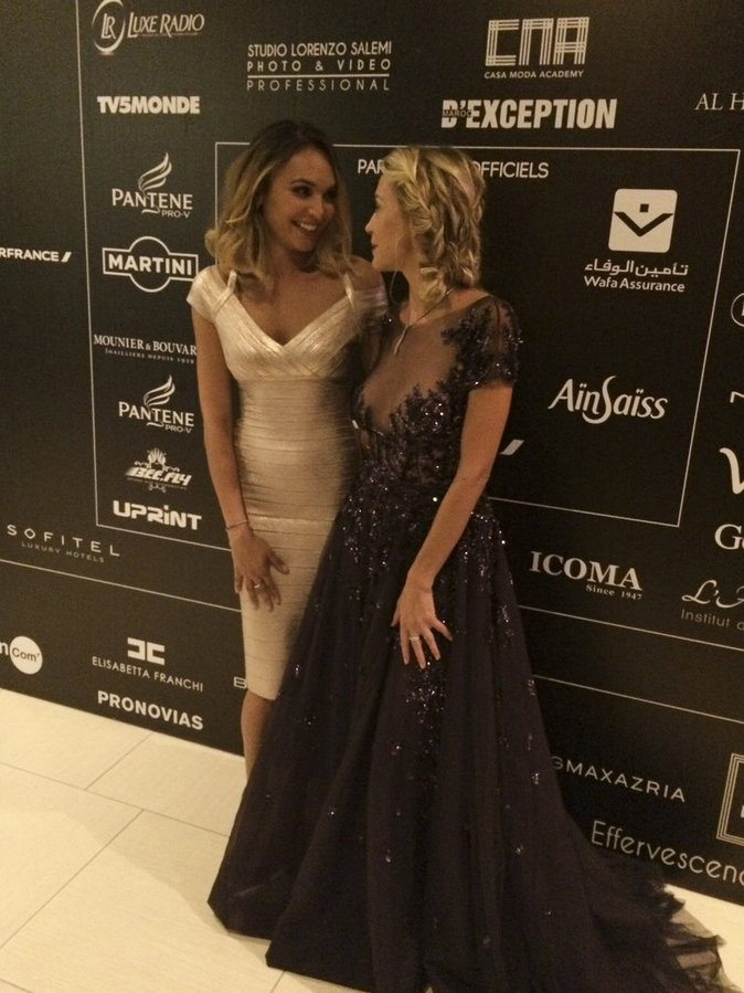 Exclu Public : Photos : Valérie Bègue, Hélène de Fougerolles, Anthony Dupray... tous au Maroc pour le Casa Fashion Show !