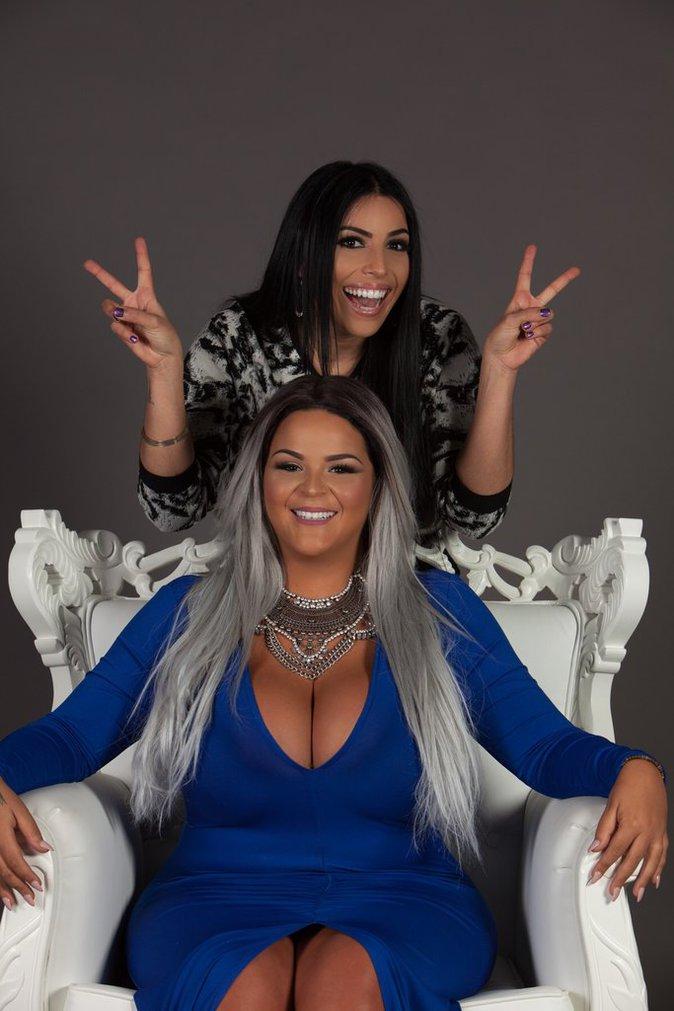 Sarah Fraisou et Siham Bengoua