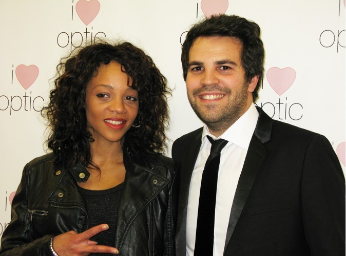 Louisy Joseph et Jonathan Coscas (PDG I Love Optic)