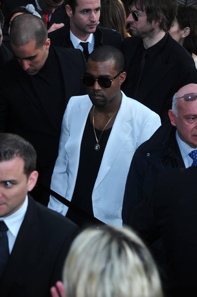 Kanye West au défilé Chanel