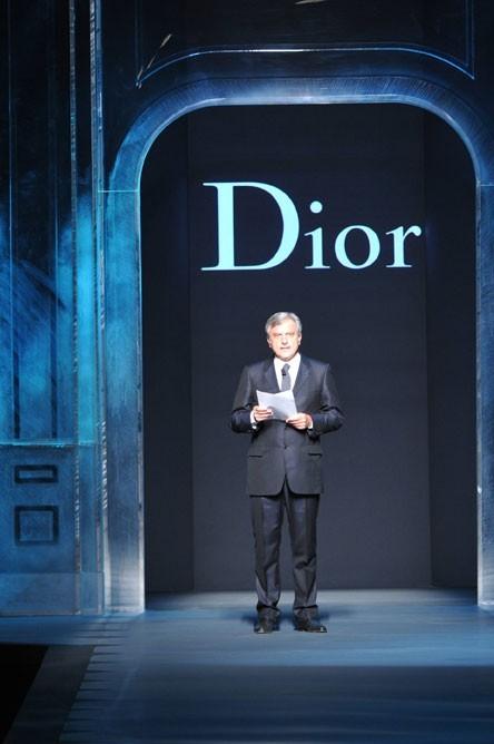 Fashion Week Paris : le discours du PDG Sydney Toledano avant le défilé Dior