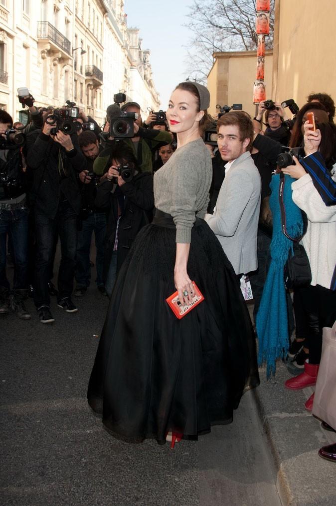 Fashion Week Paris : les belles robes des guests avant le défilé Dior