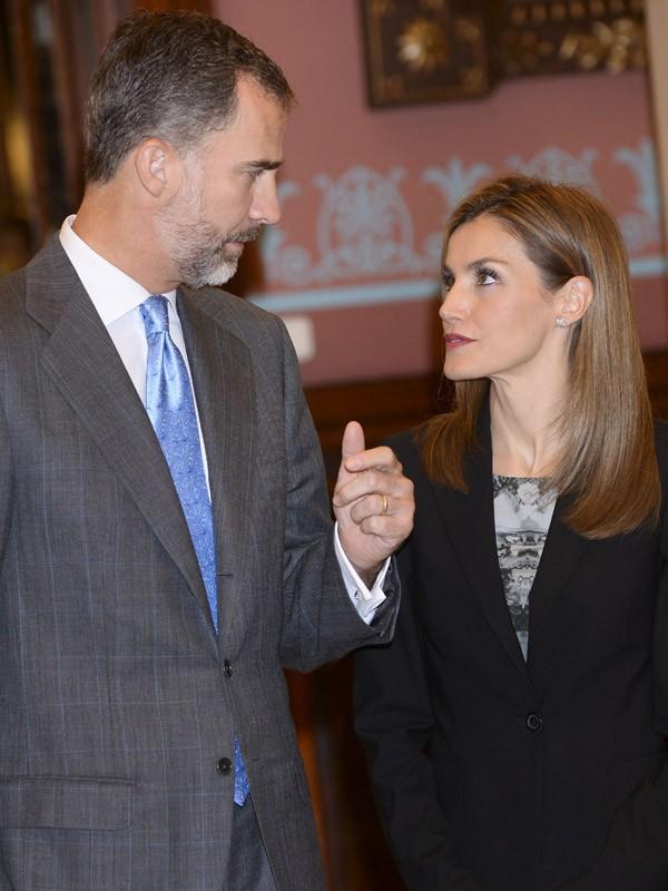 Felipe VI d'Espagne et Letizia d'Espagne