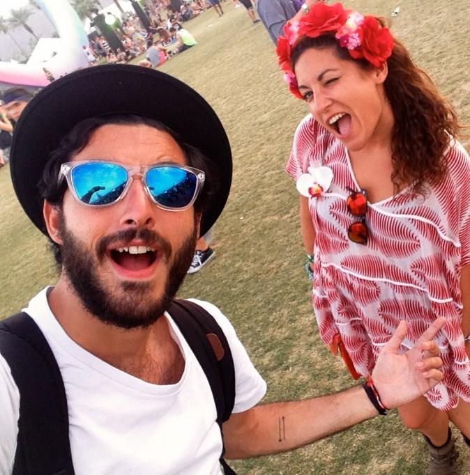 Nos envoyés spéciaux, Leslie et Anthony en mode selfie - Coachella JOUR 2