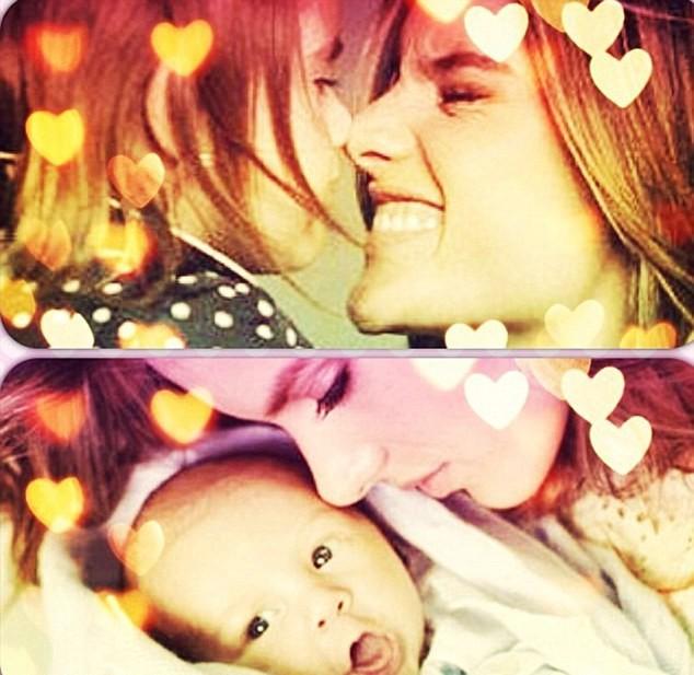 Alessandra Ambrosio et ses enfants