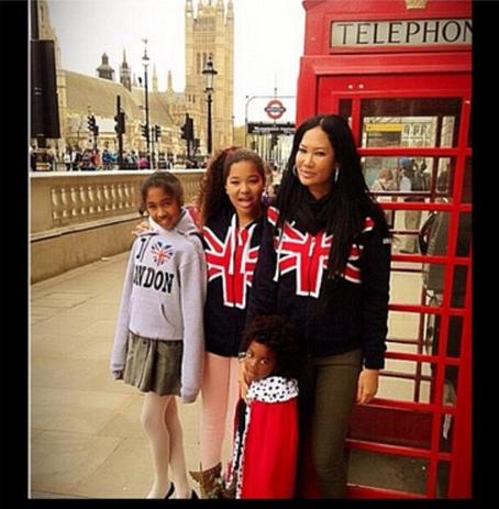 Kimora Lee Simmons et ses enfants