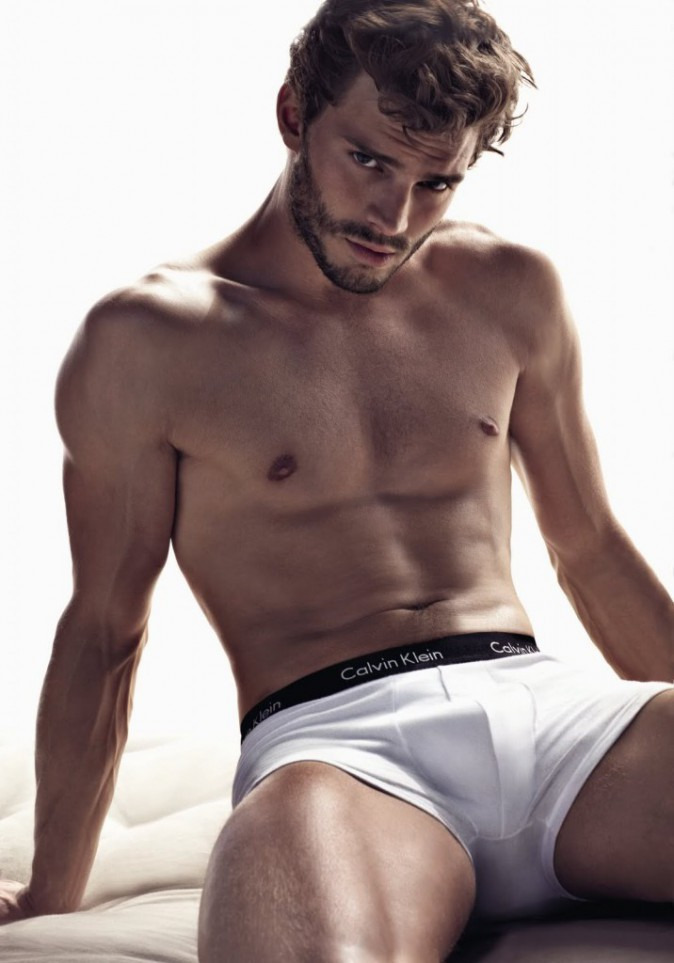 Fifty Shades Of Grey : J-6 avant la sortie... Jamie Dornan VS David Gandy : le choc des beaux gosses !