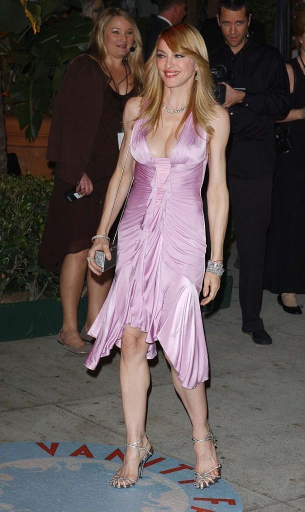 2006: Look plutôt jeune pour une Madonne qui a dépassé la quarantaine !