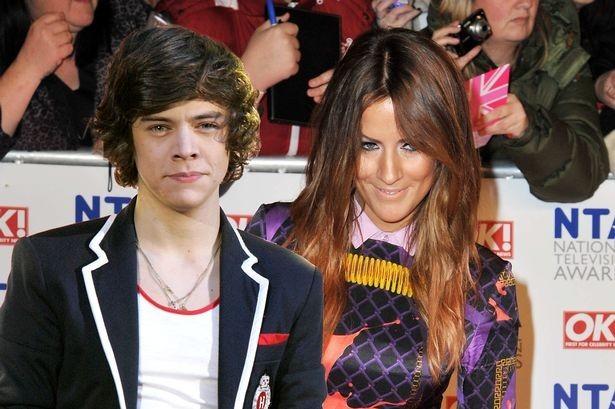 Harry Styles et Caroline Flack